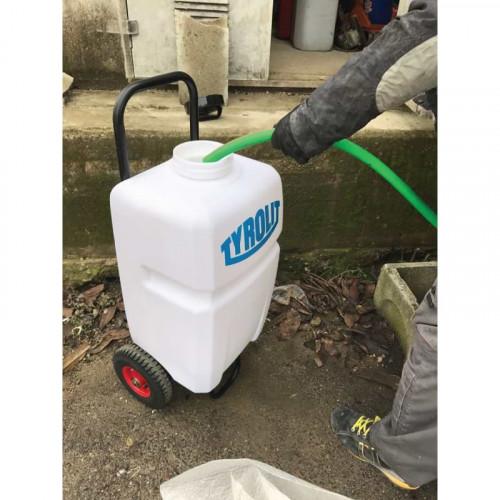 Serbatoio acqua con pompa a batteria ricaricabile